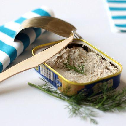 Tartinade de sardine à l'Aneth