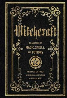 A must-have volume for any occultist's library. Tap into the magic all around you with Witchcraft, an illustrated guide to ancient potions, spells, chants, rituals, and incantations from around the world. Learn how to form a spirit circle with coven members, what instruments you need for your craft, special conjurations for each day of the week, and hundreds of crafty spells and potions.