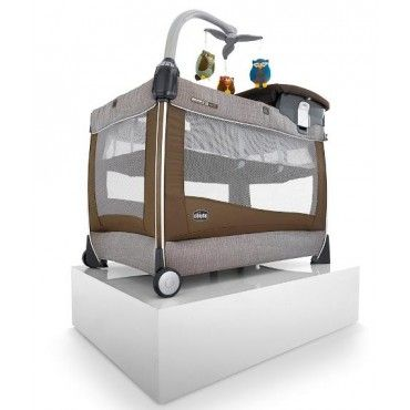 Chicco Lullaby Magic Cot - Rattania from mybabywarehouse