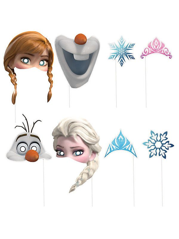 Frozen Photo Booth Props Más