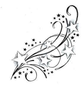 Shooting Star Tattoos
