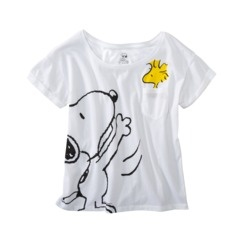 I have a Snoopy shirt but this one is adorable too