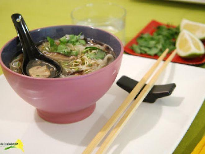 Sopa vietnamita vegetariana, Receta por Ajonjoli - Petitchef                                                                                                                                                     Más