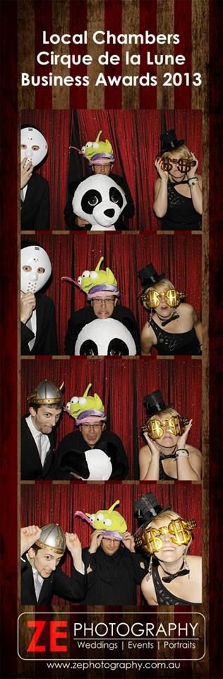 Photobooth madness at the Local Chambers Business Awards 2013