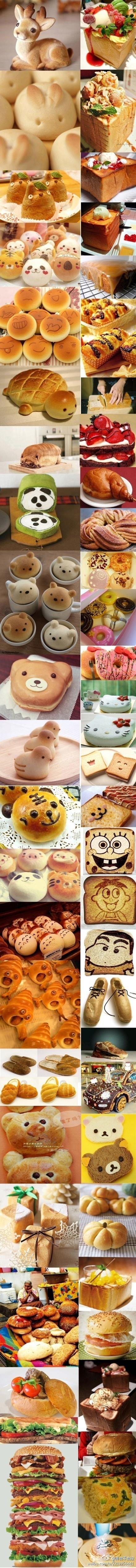 cute bread