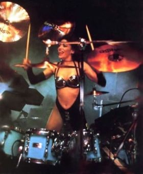 Shelia E 1988 Lovesexy Tour  (Prince)