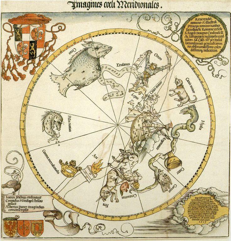 Альбрехт Дюрер. Карта южного неба.
