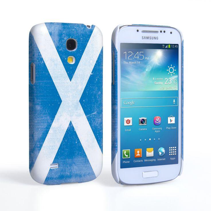 Caseflex Samsung Galaxy S4 Mini Retro Scotland Flag Case | Mobile Madhouse #Gift #Present #Samsung #Galaxy #S4Mini #SamsungS4Mini #GalaxyS4Mini #Case #Cover #HardCase #PhoneCover #Retro #Flag #Distressed #Scotland #Scottish
