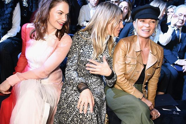 @dior front row: Рут Уилсон Сиенна Миллер и Кейт Мосс #PFW #ellerussia  via ELLE RUSSIA MAGAZINE OFFICIAL INSTAGRAM - Fashion Campaigns  Haute Couture  Advertising  Editorial Photography  Magazine Cover Designs  Supermodels  Runway Models