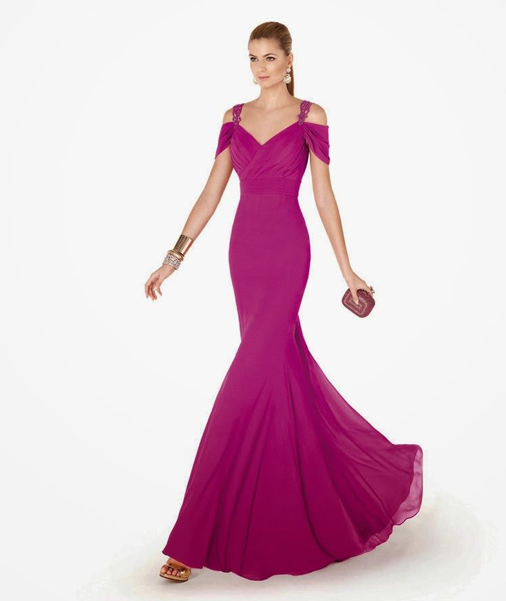 8 best vestido de fiesta images on Pinterest | Cocktail, Evening ...