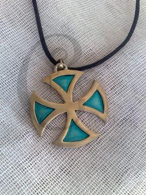 Tina's Creations - Handmade Jewels & More!: 20€ Βυζαντινός σταυρός / Byzantine Cross