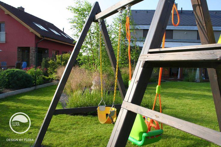 #landcape #architecture #garden #rockery #lawn #swing