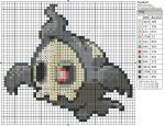 Pokemon - Duskull by Makibird-Stitching