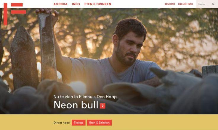 Filmhuis Den Haag - Film als basis voor een online ervaring en een veelzijdige identiteit ©Grrr