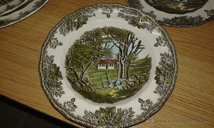 Vajilla de porcelana de firma inglesa johnson bros - Johnson brothers vajilla ...