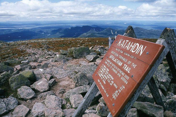 Top of Mount Katahdin