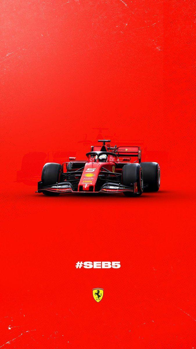 F1 Ferrari Sebastian Vetel 5 Formula 1 Car Ferrari New Ferrari