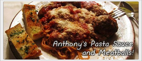 Anthony's Spaghetti Sauce, Meatballs and Sausage Recipe.