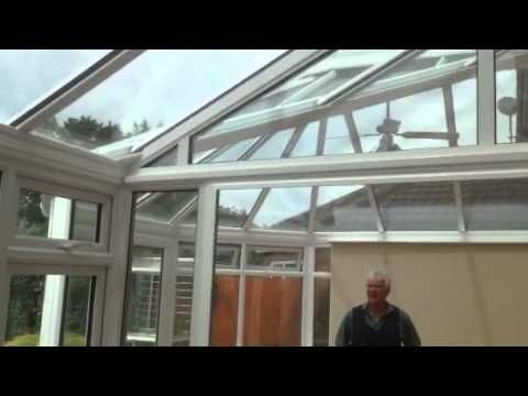 P Shape Conservatory with Solar control glass