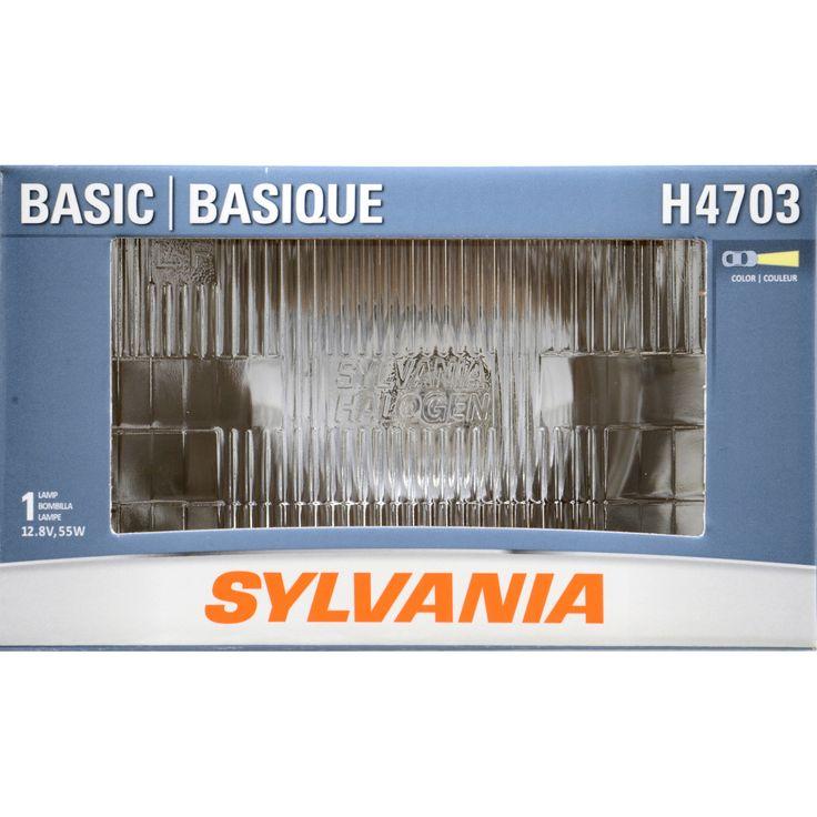 SYLVANIA H4703 Halogen Headlight 92x150 Automotive Bulb