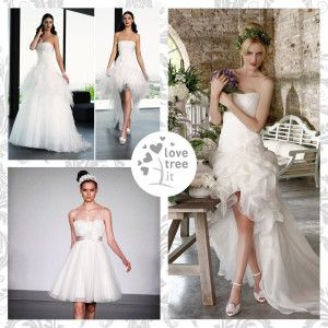 Abiti da sposa - modelli insoliti ~ Unconventional wedding dresses