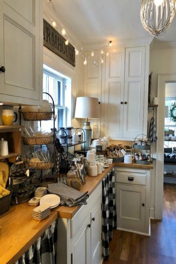 10 American Country Farmhouse Decorating Ideas Country Kitchen