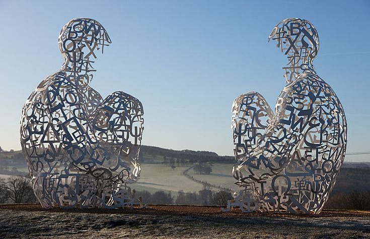 Jaume Plensa - Yorkshire park sculpture
