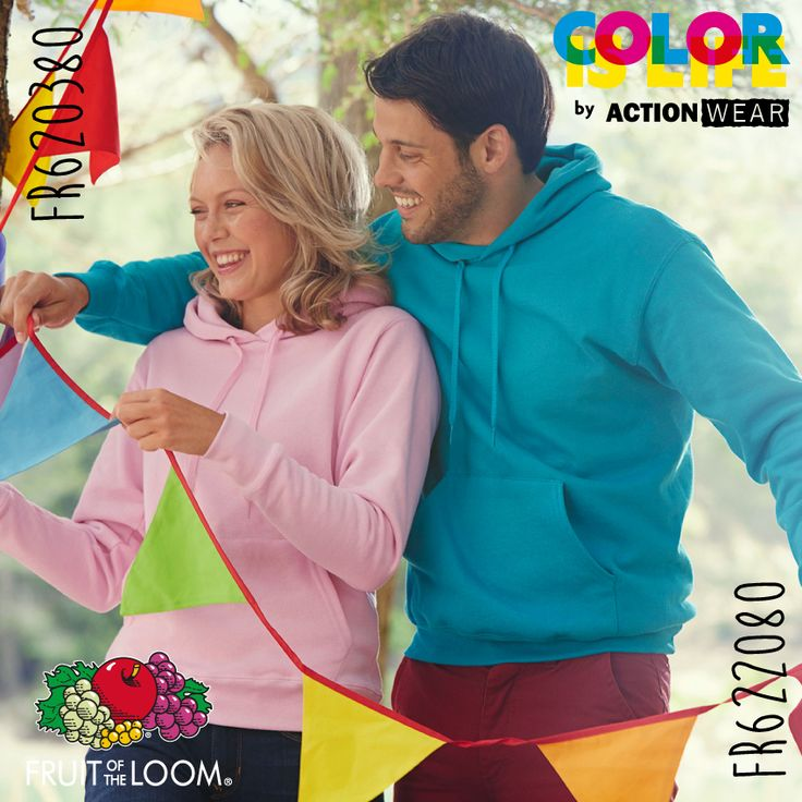 Fruit of the Loom Color is Life!
