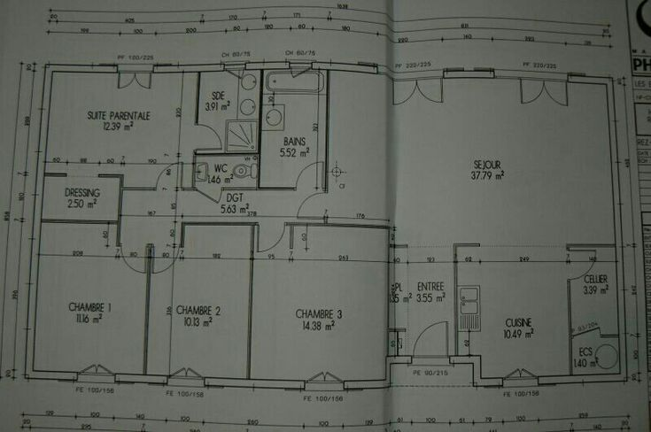 Plan maison phenix