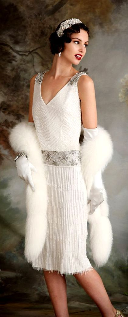 25  best ideas about White flapper dress on Pinterest | 1920s ...