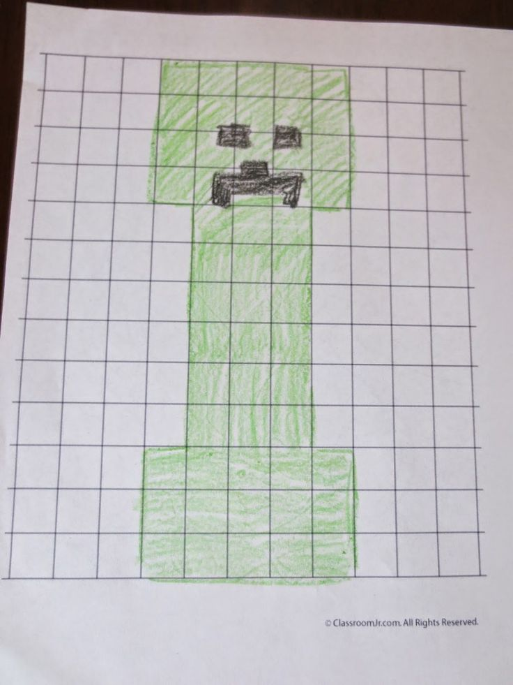 A Simple Minecraft Math Activity- Perimeter and Area - Play Eat Grow