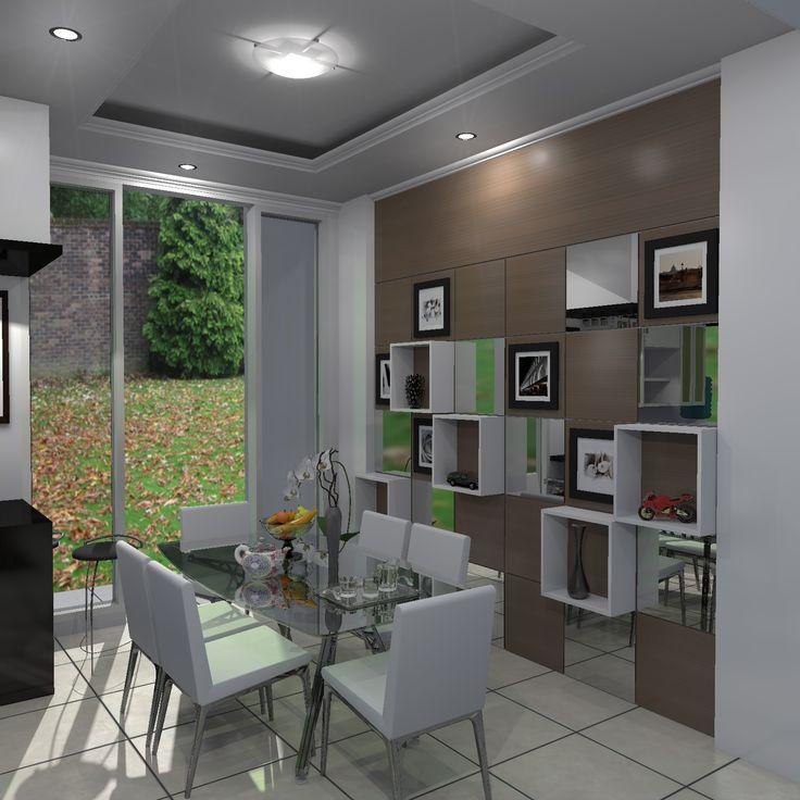 """boxes"", ruang makan kediaman bpk Mulya, Bogor"