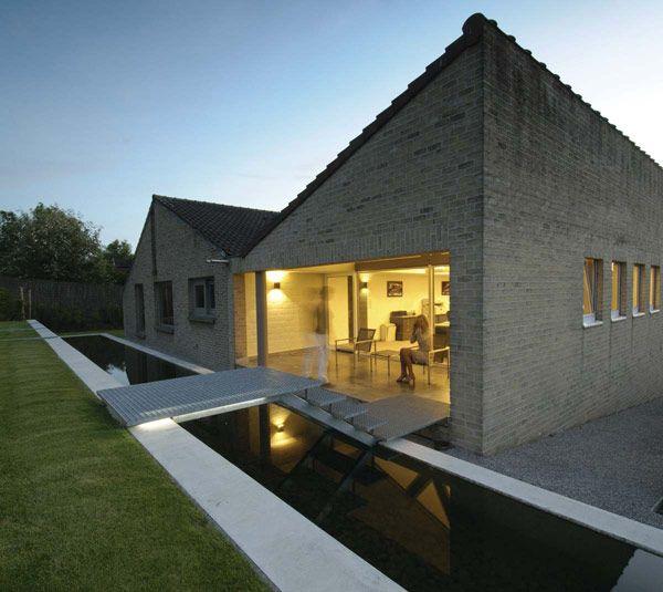 Modern landscape architecture Filip van Damme.