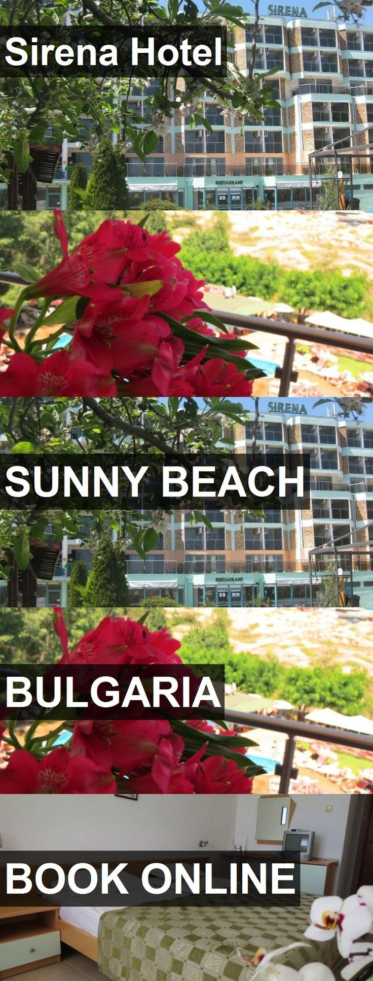 Hotel Sirena Hotel in Sunny Beach, Bulgaria. For more information, photos, reviews and best prices please follow the link. #Bulgaria #SunnyBeach #SirenaHotel #hotel #travel #vacation