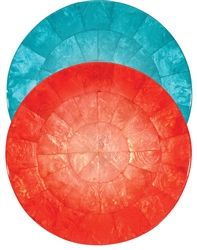 Ombre Round Capiz Shell Placemat (Set of Four) by Kim Seybert