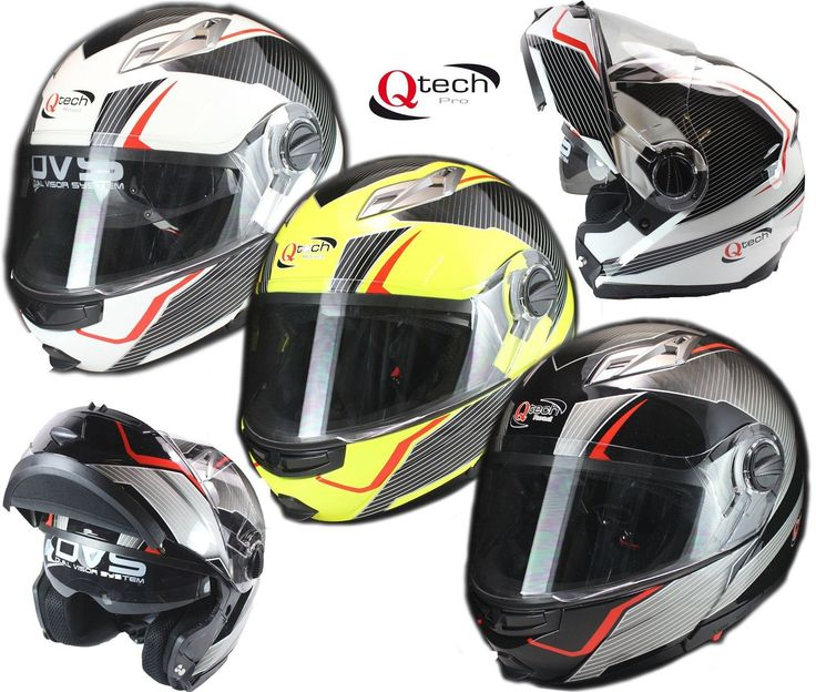 MOTORCYCLE Modular Flip-Up Crash Helmet SUN Double Visor GRAPHIC Finish | eBay