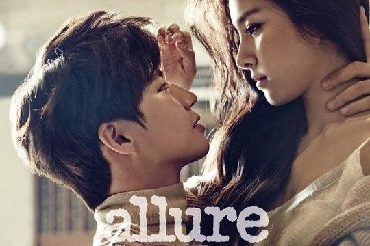 Song Jae Rim and Kim So Eun show off their sizzling chemistry in pictorial for 'Allure' Korea's December 2014 issue