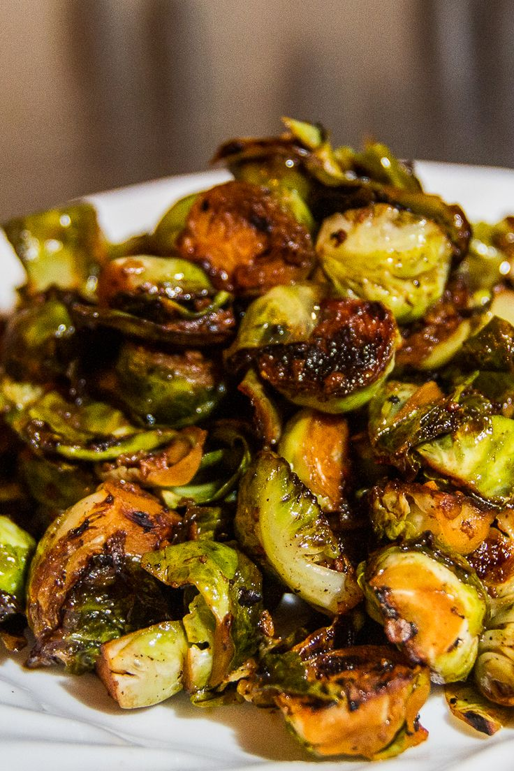 Brussel Sprout Recipes Healthy Balsamic Vinegar