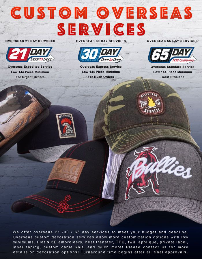caps and hats from