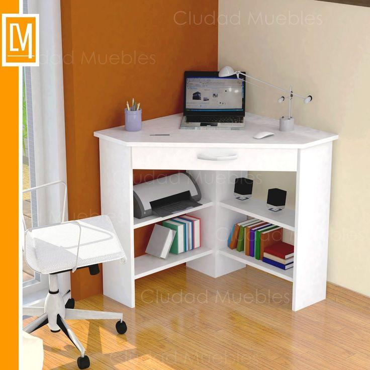 Best 25 muebles para computadora ideas on pinterest for Mesa escritorio esquina