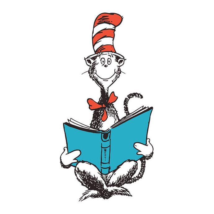 Cat In The Hat Read Book Dr Seuss Dr Seuss Quote Dr Seuss Svg Dr Seuss Png In 2021 Seuss Cute Poster Dr Seuss Quotes