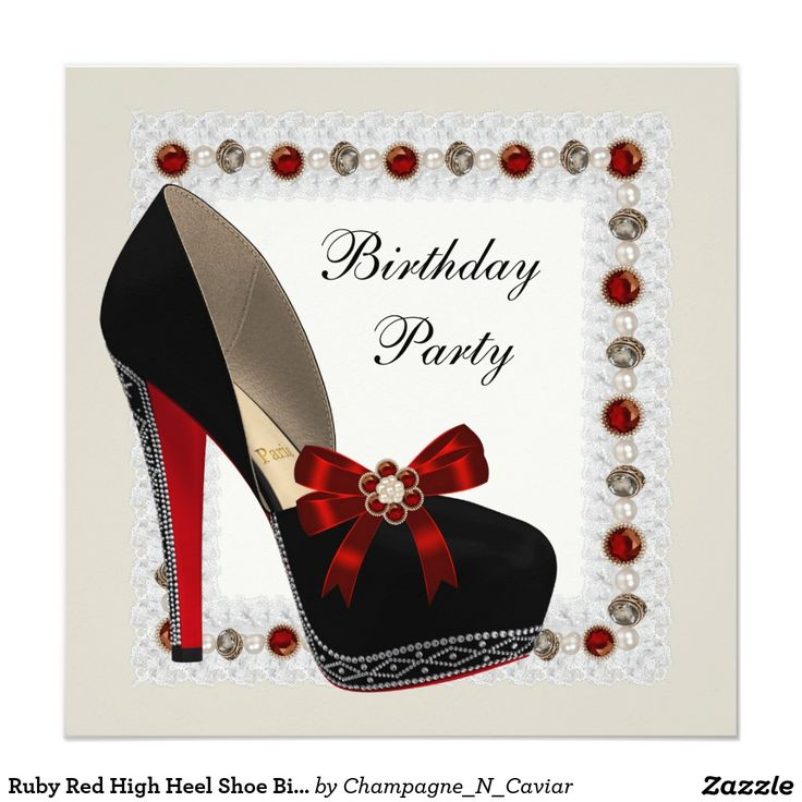 48 best Red and Black Party images on Pinterest | Birthday ...