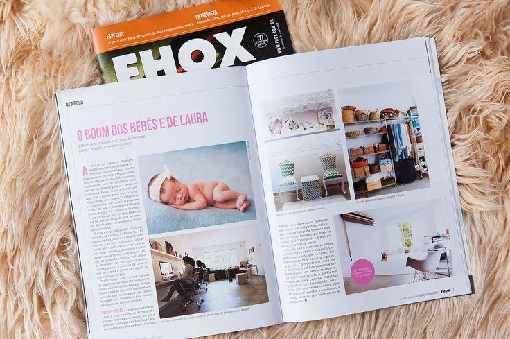 Nosso estúdio na Revista Fhox! Obrigada!!!! @Revista Fhox