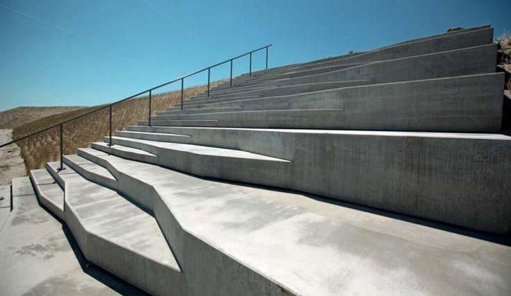 Beton ve veřejném prostoru - ukázky z Nizozemska