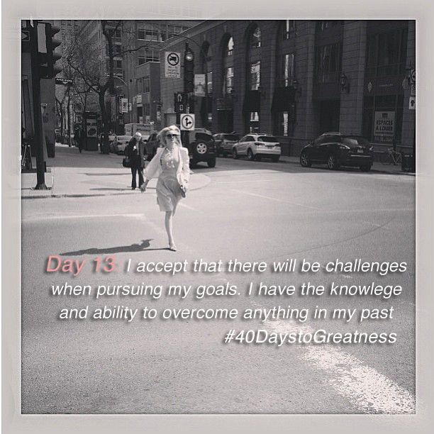 Day 13: Accept that there will be challenges when pursuing your goals, you have the knowledge and ability to overcome anything!   #40daysotgreatness #Indiegogo #Crowdfunding #Love #Loveyourself #strength #Empower #Inspire #Inspiration #women #dresses #fashion #womeninbusiness #entrepreneur #startup #smallbusiness