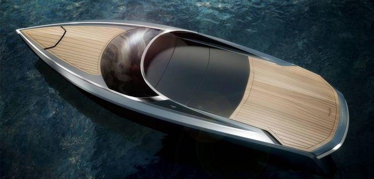 Parası olan veya olmayan herkese güzel hayaller kurduran bir tekne olsaydı, o da kesin Aston Martin'in teknesi olurdu.