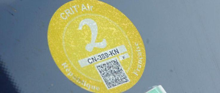 Gare à l'arnaque sur les vignettes anti-pollution Crit'Air