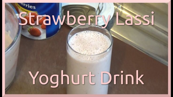 How to Make Strawberry Lassi