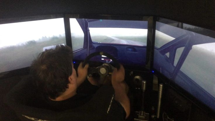 """What happens when you let a real pro rally driver play the game """"DiRT Rally"""""""