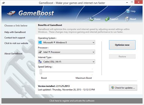 PGWARE – Download GameBoost to Make PC Games and Internet Faster #best #game #websites http://game.remmont.com/pgware-download-gameboost-to-make-pc-games-and-internet-faster-best-game-websites/  GameBoost 3 for Windows Install GameBoost to increase the speed of your computer and increase the speed of your internet. With GameBoost you can take your computer and optimize its performance for a better gaming and multiplayer internet experience. Compatible: Windows 10, 8, 7, Vista, XP Windows…